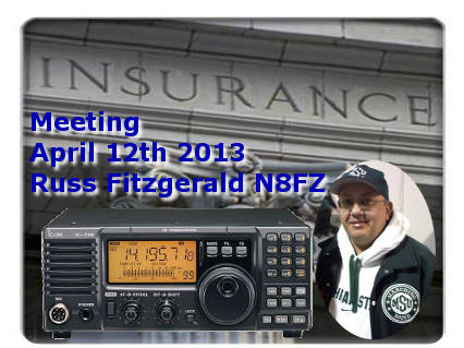 Russ Fitzgerald presents insurance information