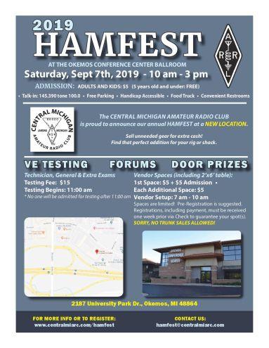 Central Michigan Amateur Radio Club Hamfest