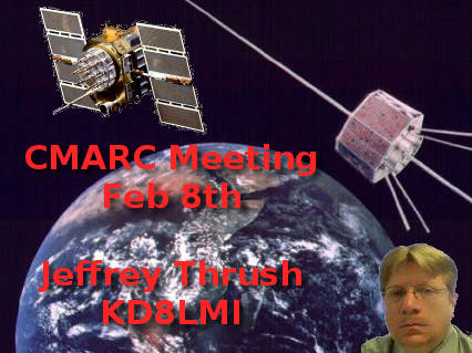 Jeffrey Thrush presents satellite communications