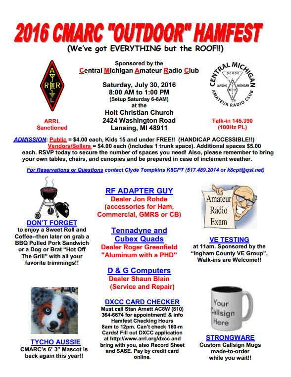 2016 Hamfest Flyer page 1